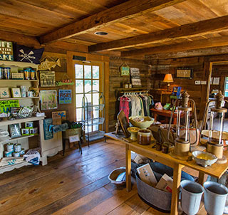 The Adventure Center & Company Store at Russell Crossroads