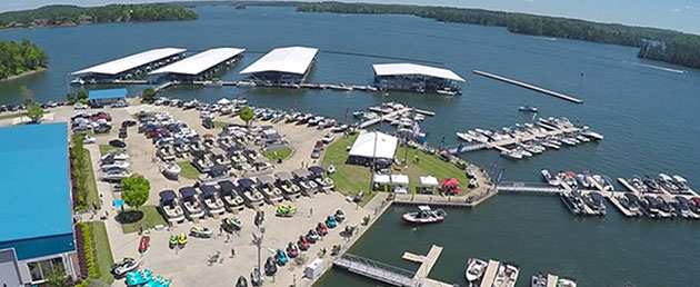 Russell Marine In-Water Boat Show at The Ridge Marina April 28-30