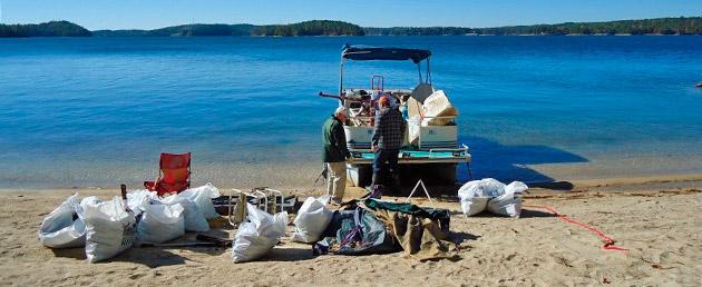 Keeping the Lake Martin shoreline beautiful
