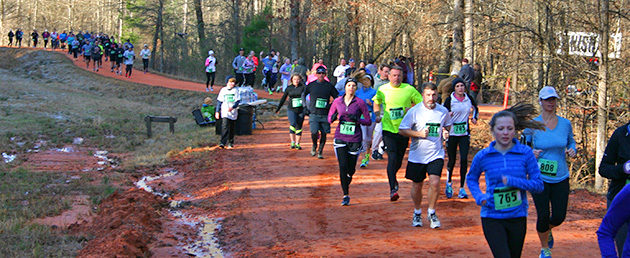 Runners at the 2016 Russell Forest Run 10K & 5K