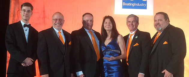 Russell Marine team receives Top 100 award