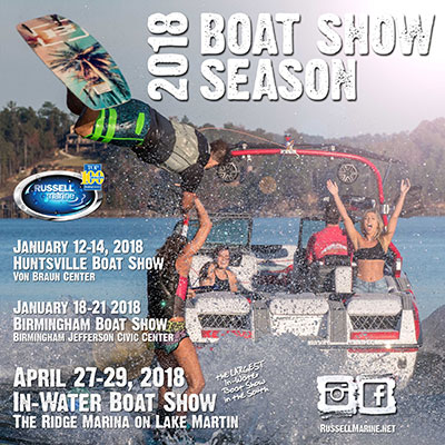 january is boat show month for russell marine russell lands onboating enthusiasts rejoice! boat show season heralds the coming spring, warm days on the water, and all of the cool gear you\u0027ll take with you