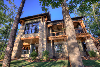 The Stone Manor - A turn-key lake home now available